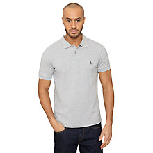 Buy Original Penguin Daddy Short Sleeve Polo Top, Rain Heather Online at johnlewis.com