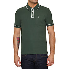 Buy Original Penguin Earl Short Sleeve Cotton Polo Top Online at johnlewis.com