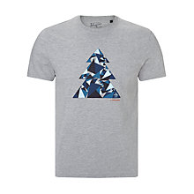 Buy Original Penguin Filled Tree T-shirt, Grey Online at johnlewis.com