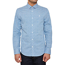 Buy Original Penguin Rivers Shirt, Vallatta Blue Online at johnlewis.com