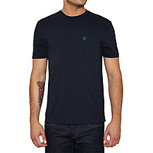 Buy Original Penguin Filled Tree T-Shirt, Dark Sapphire Online at johnlewis.com