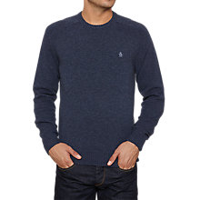 Buy Original Penguin Hector Crew Lambswool Jumper Online at johnlewis.com