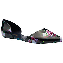 Buy Ted Baker Rikyu Jelly Pointed Pumps, Fuchsia Pink Online at johnlewis.com