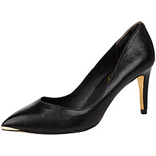 Buy Ted Baker Monirra Leather Pointed Court Shoes Online at johnlewis.com