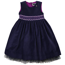 Buy Question Everything Girls' Grace Velvet Dress Online at johnlewis.com