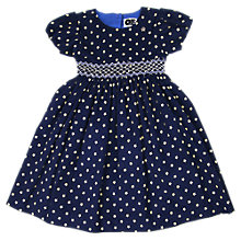 Buy Question Everything Girls' Tokyo Star Cord Dress, Navy Online at johnlewis.com