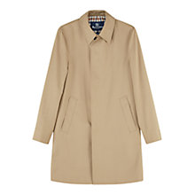 Buy Aquascutum Broadgate Single Breasted Raincoat Online at johnlewis.com