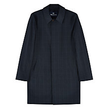 Buy Aquascutum Woolf Check Trench Coat Online at johnlewis.com