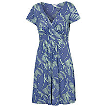Buy Fat Face Camille South Beach Dress, Blue Online at johnlewis.com