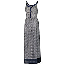 Buy Fat Face Cawthorne Flower Forest Maxi, Navy Online at johnlewis.com