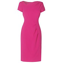 Buy L.K. Bennett Mari Structured Dress, Power Pink Online at johnlewis.com