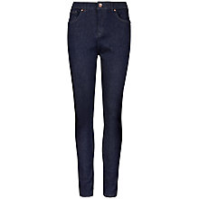 Buy Ted Baker Highje High Waisted Jeans, Dark Wash Online at johnlewis.com