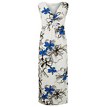 Buy Windsmoor Large Floral Maxi Dress, Light Neutral Online at johnlewis.com