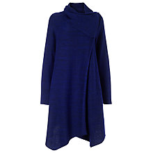 Buy Phase Eight Bellona Waterfall Coat, Electric Blue Online at johnlewis.com