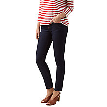 Buy Hobbs Dickenson Regular Jeans, Indigo Online at johnlewis.com