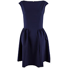 Buy Almari Gathered Panel Dress, Navy Online at johnlewis.com