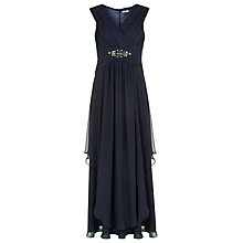 Buy Kaliko Embellished Maxi Dress, Navy Online at johnlewis.com