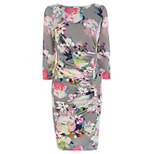 Buy Coast Saralise Floral Print Jersey Dress, Multi Online at johnlewis.com