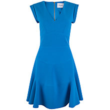 Buy Almari V-Neck Panel Dress, Blue Online at johnlewis.com
