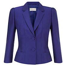 Buy Hobbs Coira Jacket, Dark Violet Online at johnlewis.com