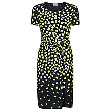 Buy Precis Petite Square Print Jersey Dress, Multi Black Online at johnlewis.com