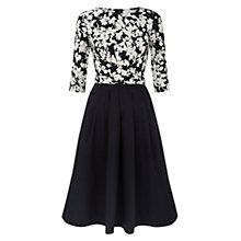 Buy Hobbs Jessica Dress, Light Navy Online at johnlewis.com