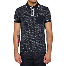 Buy Original Penguin Solar Polo Shirt, Dark Sapphire Online at johnlewis.com