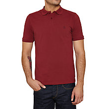 Buy Original Penguin Daddy Short Sleeve Polo Top, Pomegranate Online at johnlewis.com