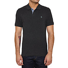 Buy Original Penguin Morrissey Done Flek Polo Shirt, Eiffel Tower Online at johnlewis.com
