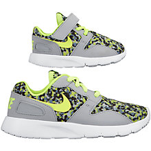 Buy Nike Kaishi Print Sports Trainers, Grey/Multi Online at johnlewis.com