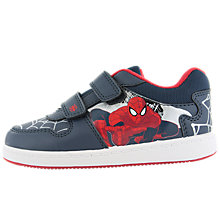 Buy Spider-Man Trainers, Navy Online at johnlewis.com