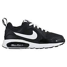 Buy Nike Air Max Trax Sports Shoes, Black/White Online at johnlewis.com