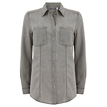 Buy Mint Velvet Shirt, Grey Online at johnlewis.com