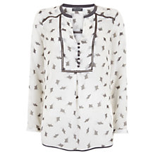 Buy Mint Velvet Heidi Print Blouse, Multi Online at johnlewis.com