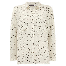 Buy Mint Velvet Gwen Print Oversized Blouse, Multi Online at johnlewis.com
