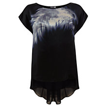 Buy Mint Velvet Sienna Print Layered Top, Multi Online at johnlewis.com