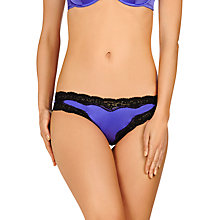 Buy Stella McCartney Clara Whispering Bikini Briefs, Bluebell Black Online at johnlewis.com