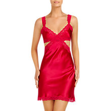 Buy Stella McCartney Clara Whispering Chemise, Deep Fuchsia Online at johnlewis.com