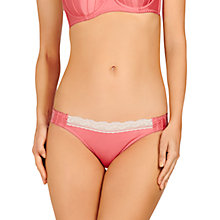 Buy Stella McCartney Penny Buzzing Bikini Briefs, Azalea Pink / Oatmeal Online at johnlewis.com