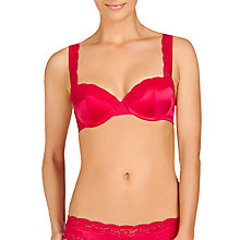 Buy Stella McCartney Clara Whispering Contour Balcony Bra, Deep Fuchsia Online at johnlewis.com
