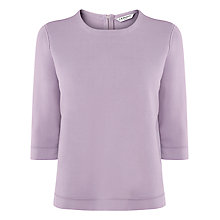 Buy L.K. Bennett Malia Knitted Cropped Top, Heather Online at johnlewis.com