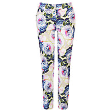 Buy Warehouse Floral Trousers, Multi Online at johnlewis.com