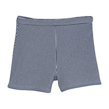 Buy Mango Striped Shorts, Navy Online at johnlewis.com