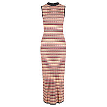 Buy Warehouse Zig Zag Pattern Dress, Multi Online at johnlewis.com