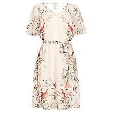 Buy Warehouse Placement Bird Dress, Multi Online at johnlewis.com