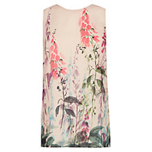 Buy Warehouse Foxglove Shell Top, Pink Online at johnlewis.com