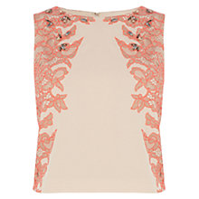 Buy Coast Kimbriela Top, Blush Online at johnlewis.com