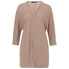 Buy Betty Barclay Fine Knit Oversized Cardigan, Taupe Melange Online at johnlewis.com