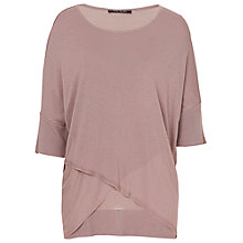 Buy Betty Barclay Oversized Fine Knit Top, Light Mauve Online at johnlewis.com