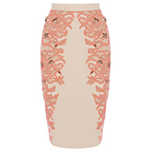 Buy Coast Kimbriella Skirt, Neutral Online at johnlewis.com